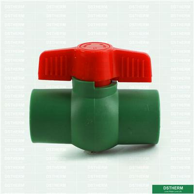 Ppr Plastic Common Ball Valve With PP Ball
