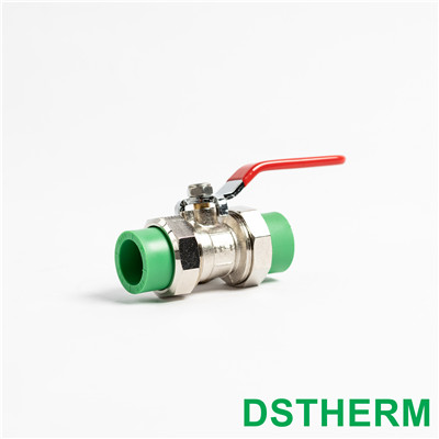 Ppr Double Union Ball Valve Hot